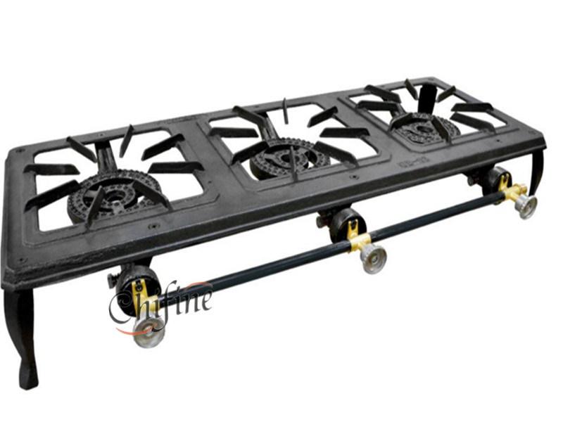 Triple Burner Cast Iron Stove for America Market