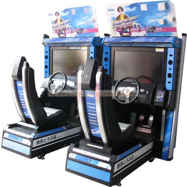 Initial D5- Arcade Simulator Car Racing Game Machine