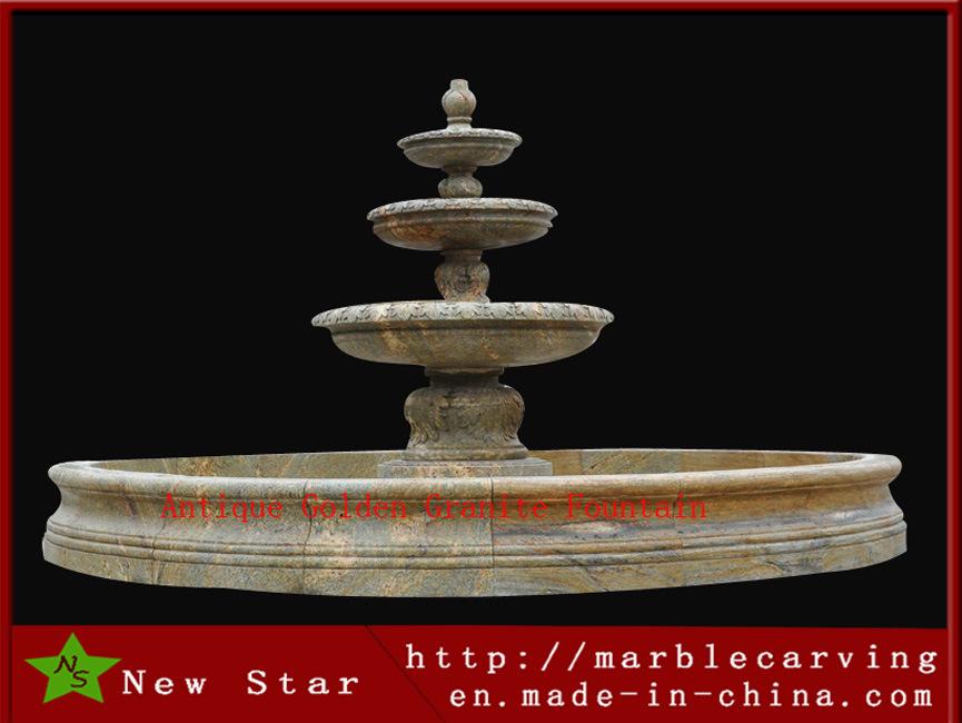 Garden Water Feature Fountain Granite Fountain
