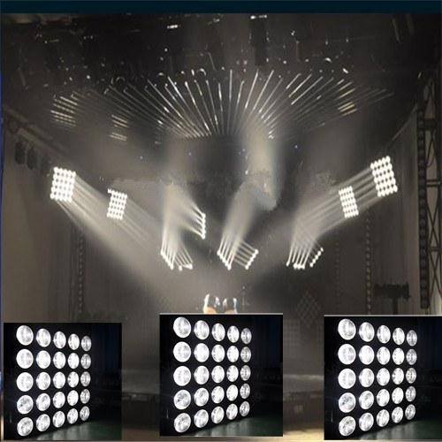 International CE 25*10W LED CREE Beam White DJ/Party Panel Lighting