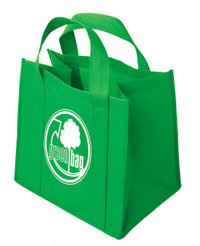 Handle Run From Top to Bottom PP Non Woven Carry Tote Bag (CN-JSNW-83)
