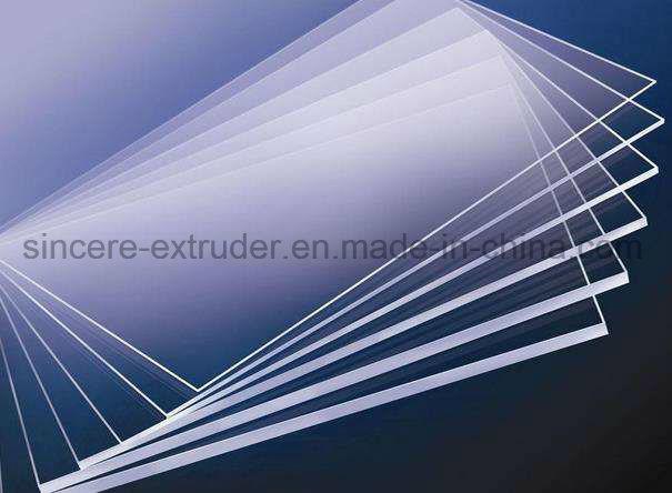 PP PS PMMA Pet Sheet Extrusion Line Production Machine