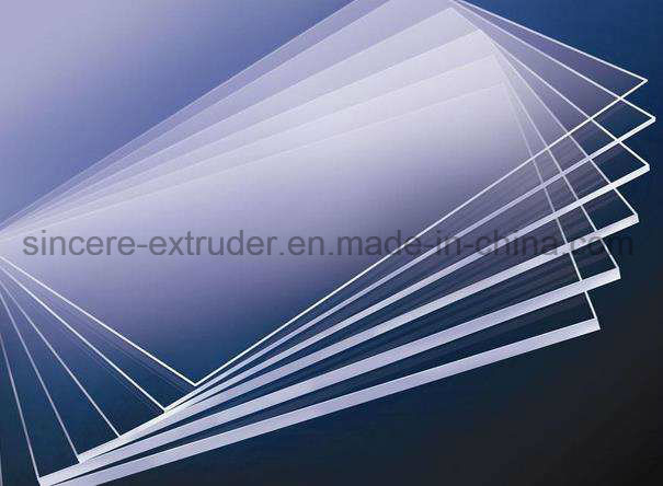 Polycarbonate Acrylic PVC PP Pet PE EPE PS Foam Marble Sheet Production Extrusion Line