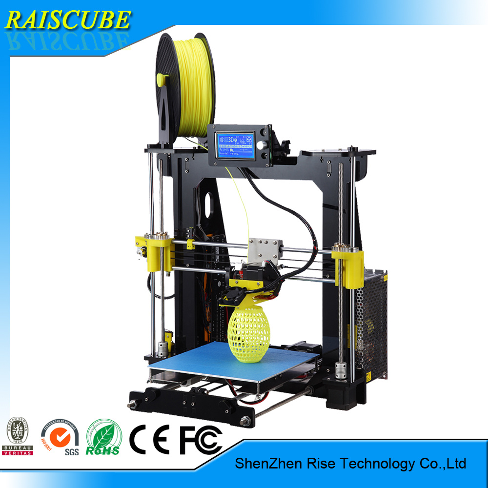 Rise Acrylic High Precision Desktop DIY Fdm 3D Printer Machine