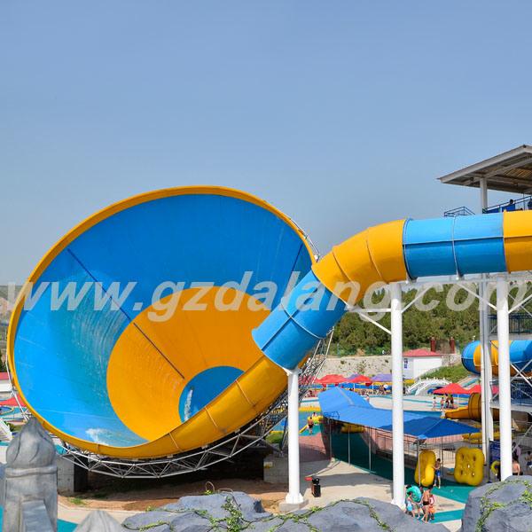 Skin Raft Tornado Water Slide for 4 People (WS001)
