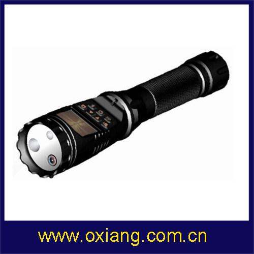 Police Flashlight DVR Police Body Camera DVR HD 1080P