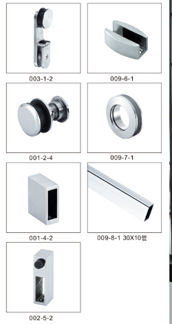 Stainless Steel Hinge Door Hardware Bathroom Accessories