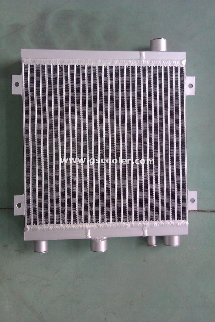 Aluminum Combined Heat Exchanger (AOC12) for Screw Compressure