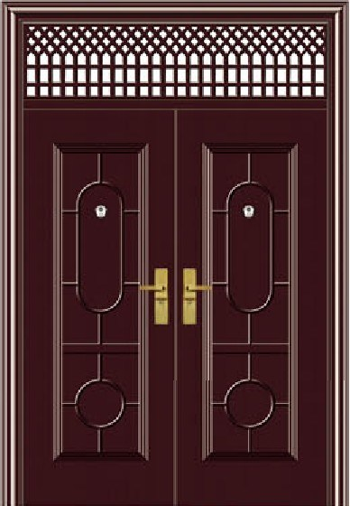 Main Entrance Double Door Design (BG-S9084) Photos & Pictures