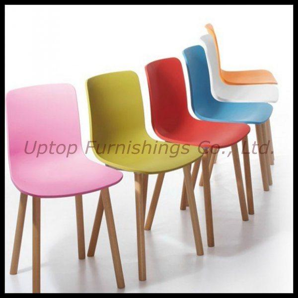 De moderne kleurrijke houten plastic stoel hal van het been sp uc007 de moderne kleurrijke - Houten plastic stoel ...