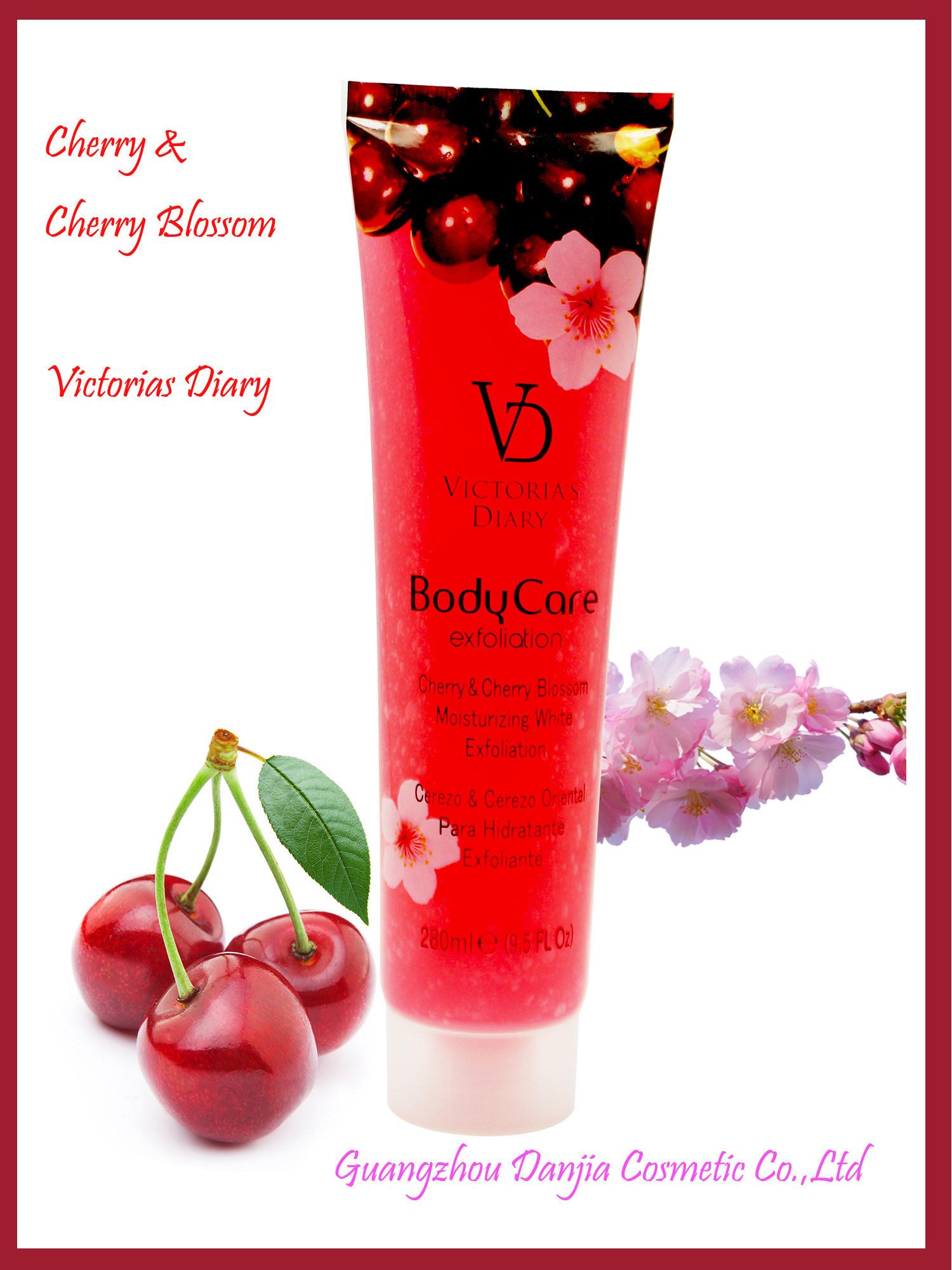 Cherry & Cherry Blossom Moisturizing Exfoliator