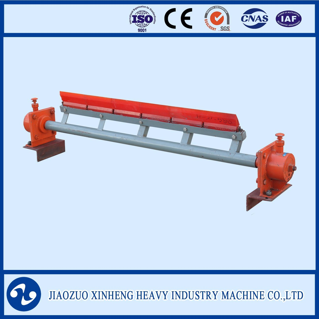Conveyor Belt Cleaning Device / Return Belt Cleaner / Scraper