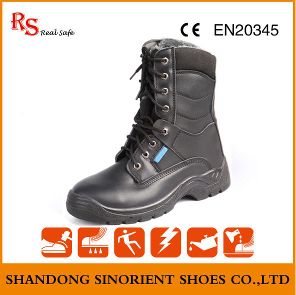 Cheap Security Guard Saudi Arabia Military Boots RS413
