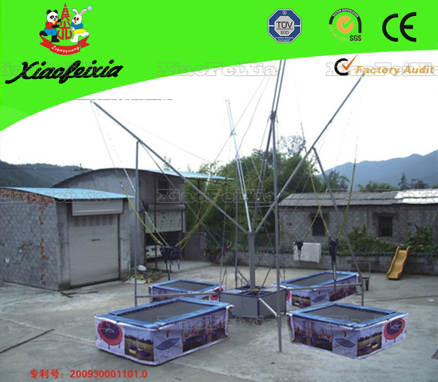 Newest Rectangle Bungee Trampoline (LG008)