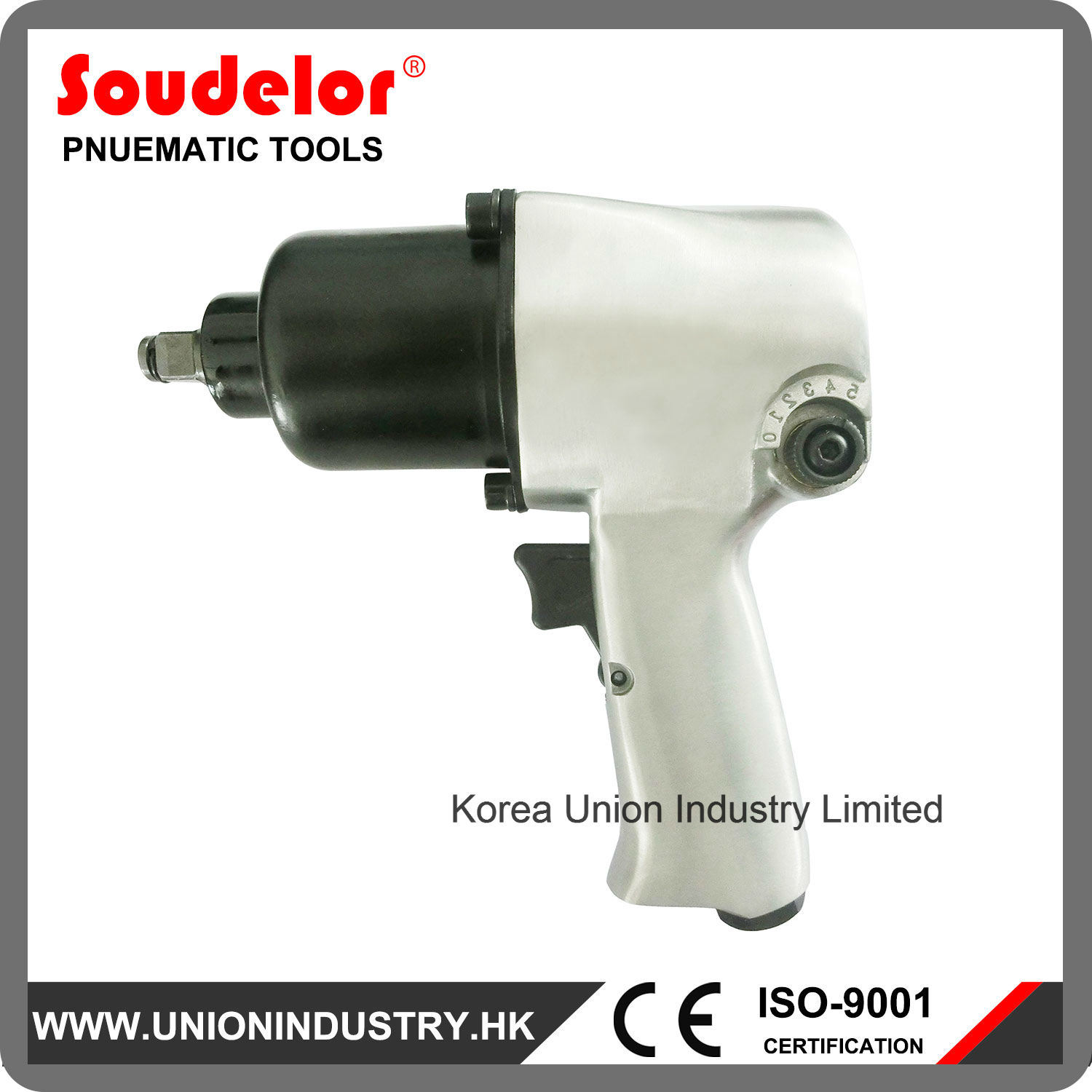 Heavy Duty 1/2 Inch Air Impact Wrench Ui-1002