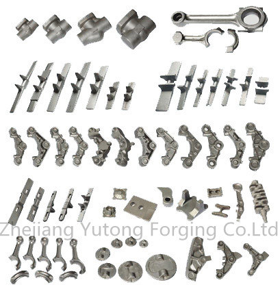 Ts16949 Proved Steel Forging Machinery Locomotive Forging Parts for Rails-Part