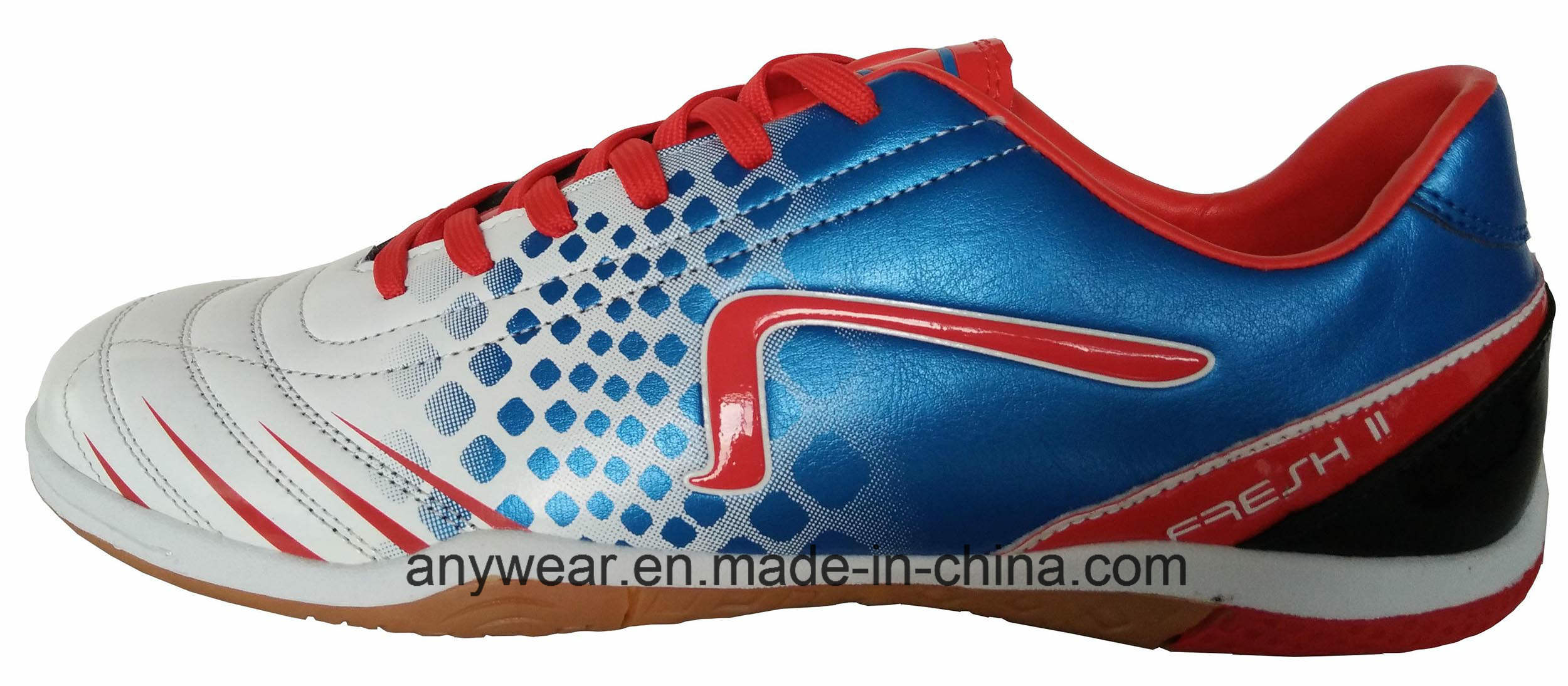 Athletic Footwear Football Soccer Indoor Shoes (816-1969)