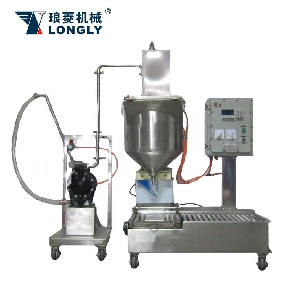 DCS-30U Weighing Type Liquid Filling Machine