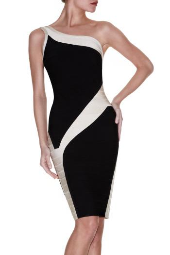 Hot Sale Sloping Shoulder Bodycon Dresses