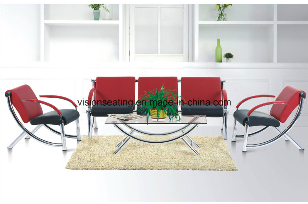 Metal Steel Lobby Reception Visitor Guest Leisure Sofa (9002)