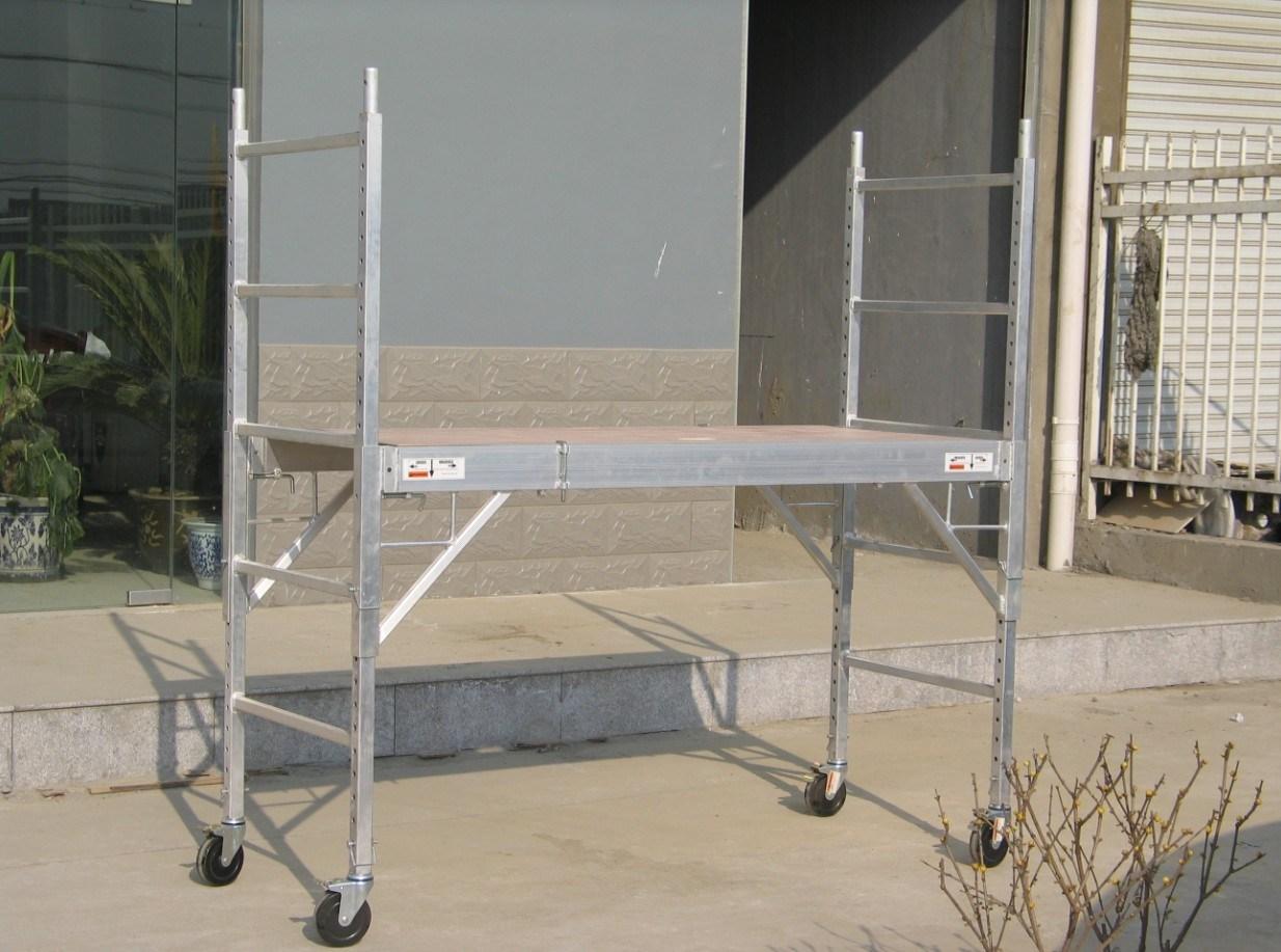 4 Aluminum Rolling Scaffold : Aluminum rolling scaffold platform photo details about