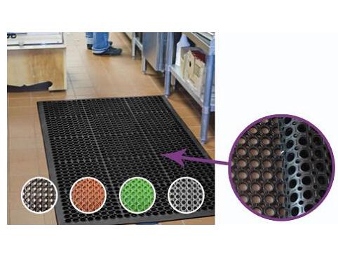 Hot Sales Anti-Slip Rubber Matting, Anti-Fatigue Rubber Flooring Mat