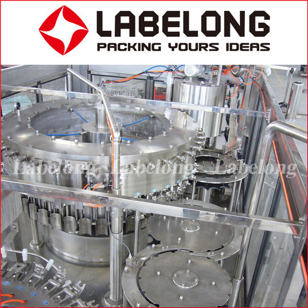 China Manufacture Automatic Fresh Juice Bottle Filling/Packing Machine