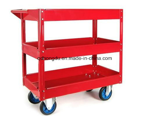 Factory Hot Sale Three Layers of Service Tool Trolley Cart