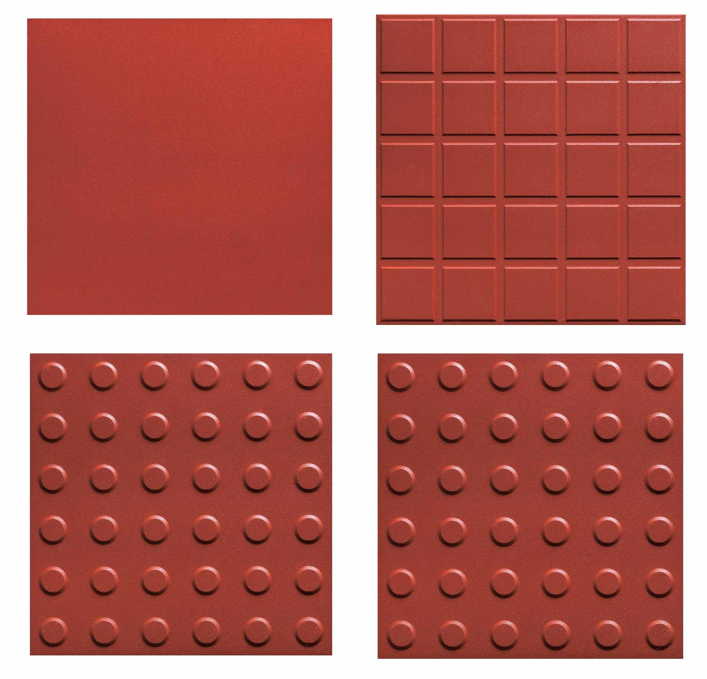china red color terracotta ceramic tile, extruded clay floor tile