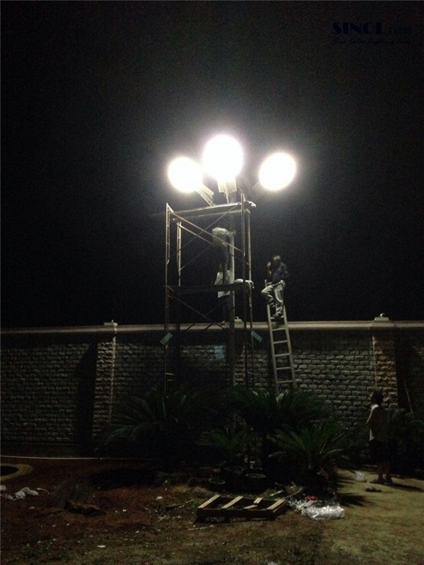 50W Integrated Solar Powered LED Road Lamps for Highway Lighting (SNSTY-250)