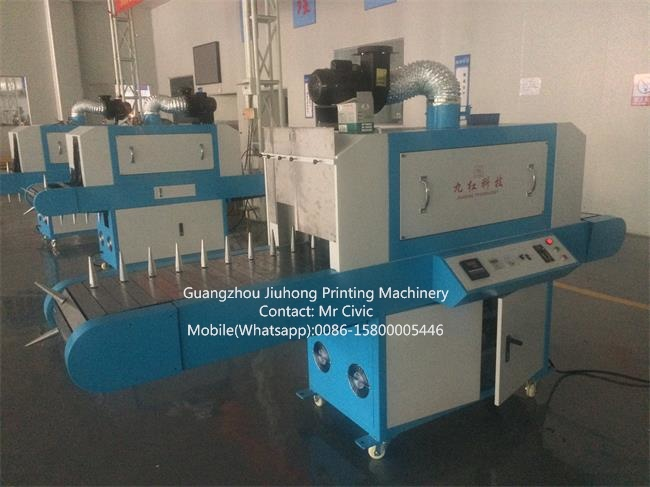 Double Usage UV Curing Machine for Plate or Round Container