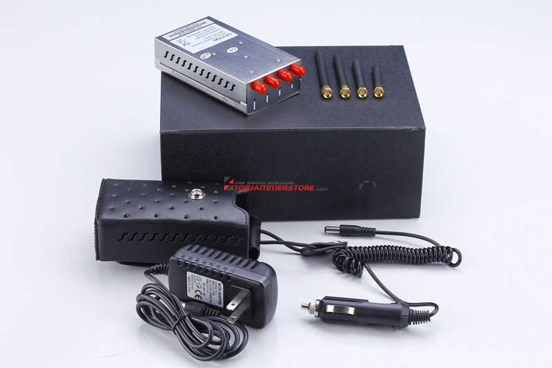 High Power GPS & WiFi Mobile Phone Signal Jammer