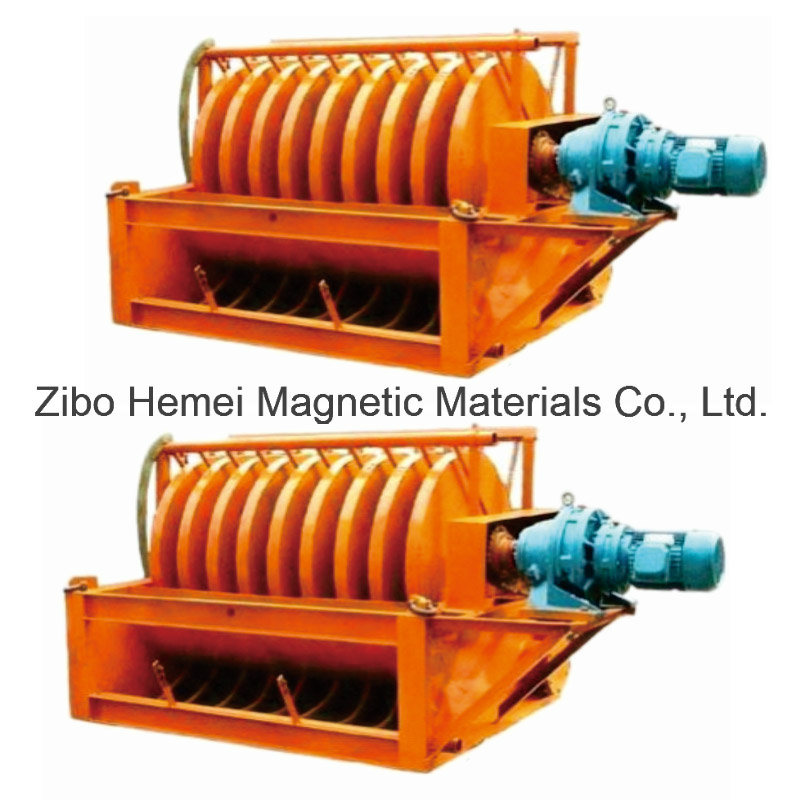Disc Tailings Recycling Machine Magnetic Separator Mining Machinery