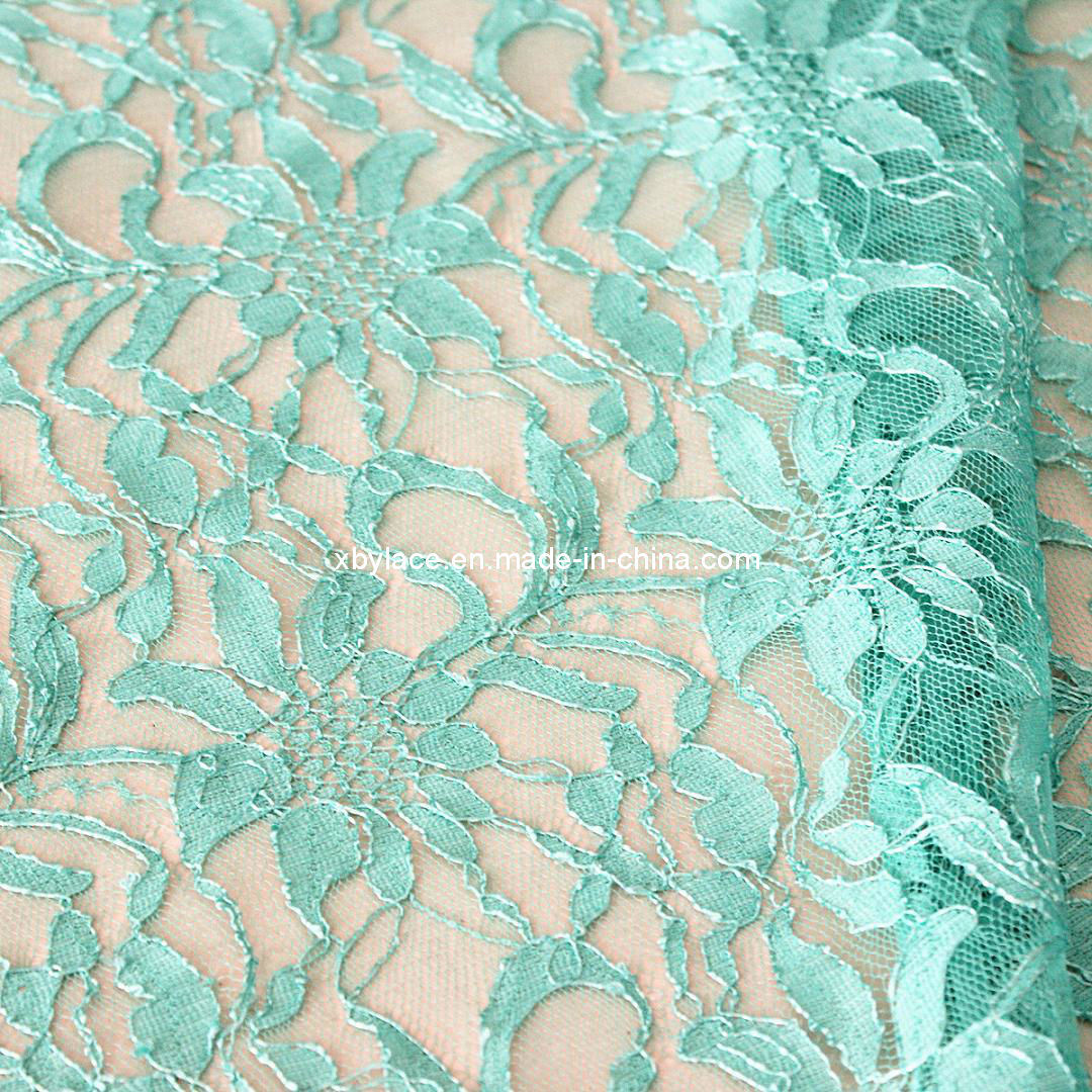 Lace Embroidery Fabric (M593)