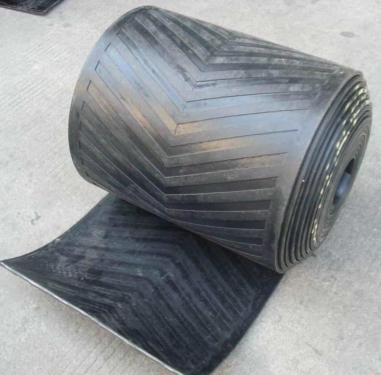 Chevron Conveyor Belt, V Belt, V-Shaped Conveyor Belt