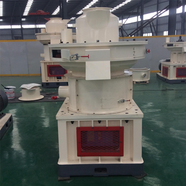 Vertical Ring Die Wood Pellet Machine