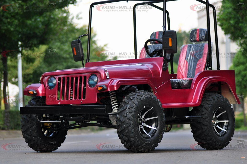 2017 Hot Selling Adult Mini Jeep Willys ATV Quad Bike on 150cc & 200cc Engine