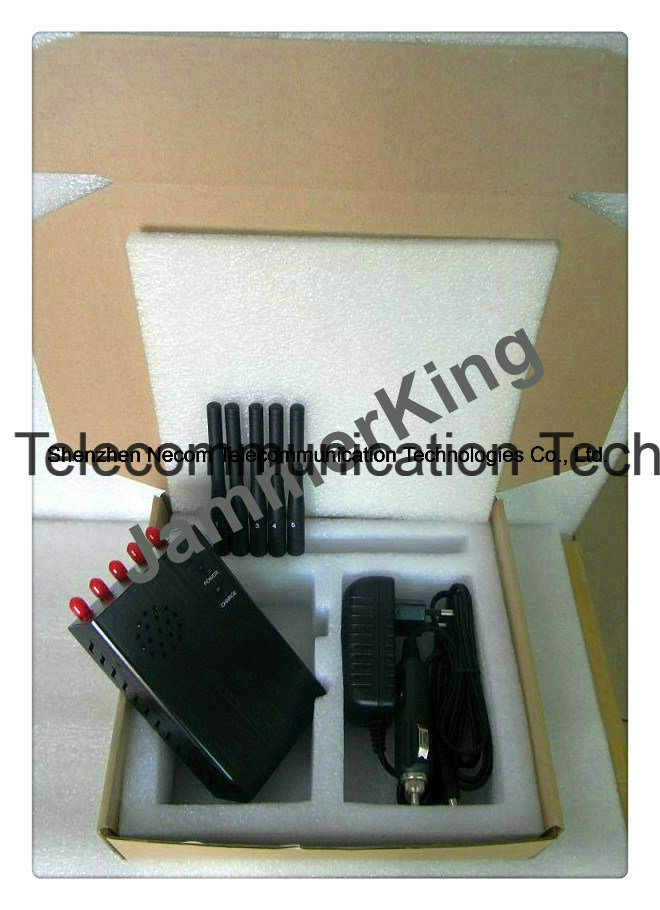 mobile jammer Kentucky , China 2g+3G+4G+1.2g 5 Antenna Big Portable Cell Jammer, Portable GPS Jammer, Portable WiFi Jammer - China 2g+3G+4G+1.2g 5 Band High Power Jammers, 5 Antennas Signal Blockers