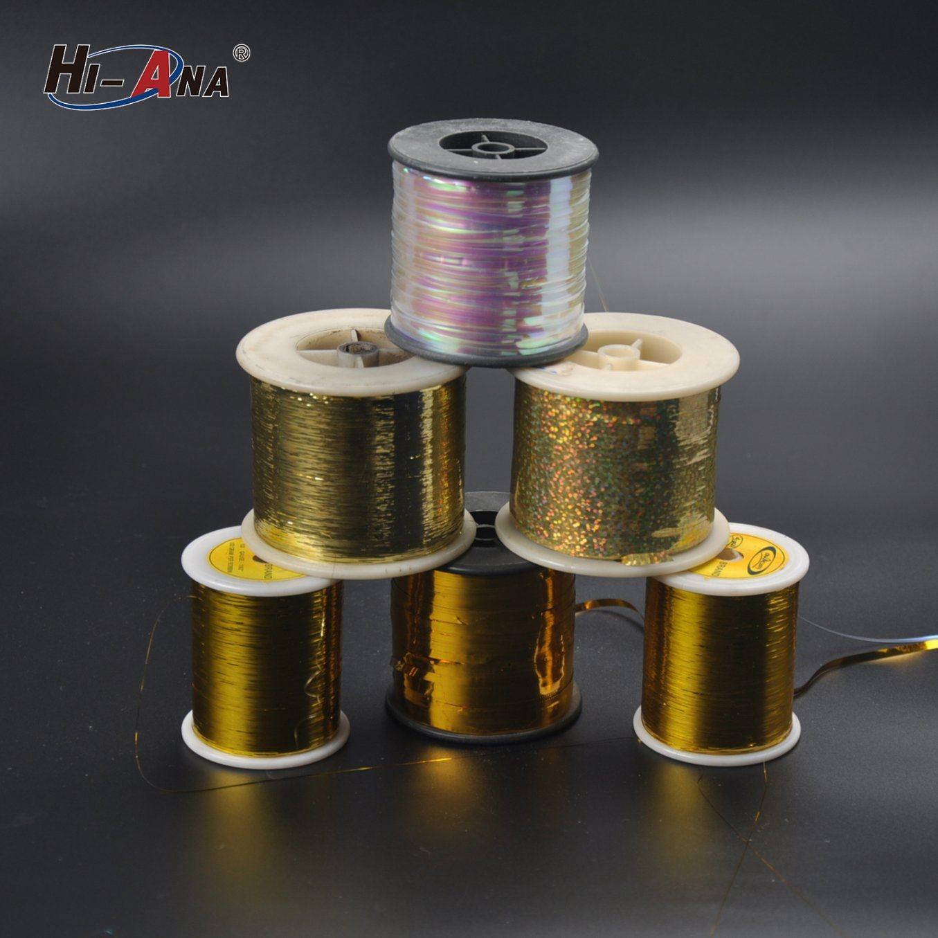 Over 800 Partner Factories Dyed M Type Metallic Yarn