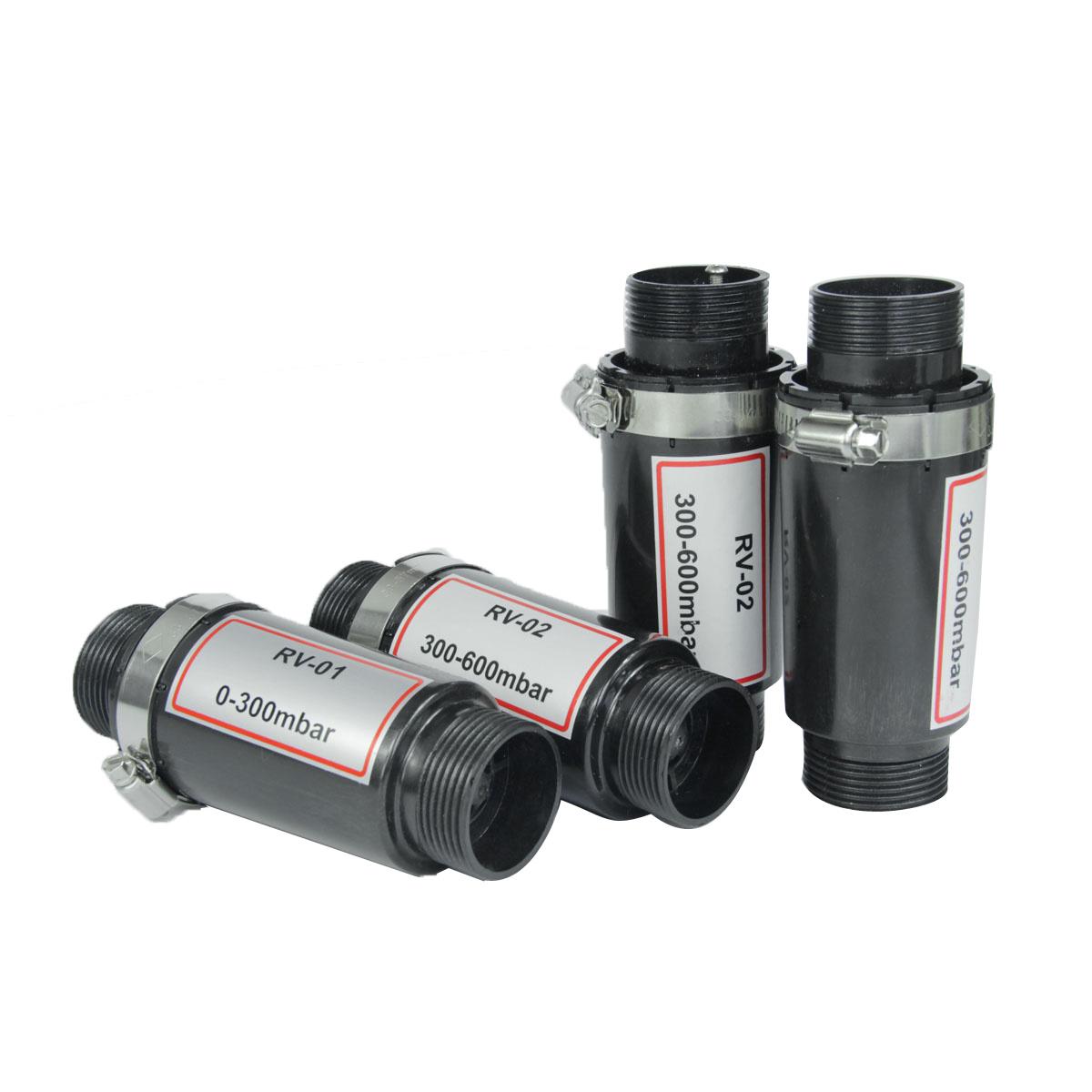 Vacuum Pump 300-600mbar Plastic Pressure Relief Valve (RV-02)