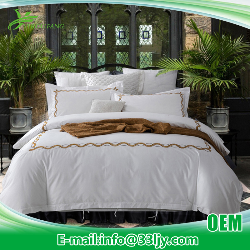 Cotton Embroidery Apartment China Wholesale Quilt Bedding
