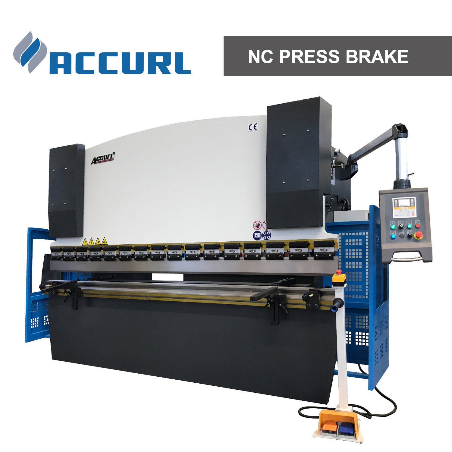 Press Brake 40t 1600mm with Estun E21 Nc Control System