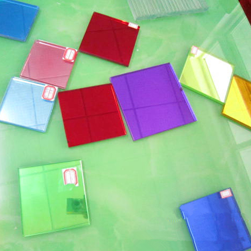 4mm-10mm Coated/Tinted/Colored/Reflective Tempered Decorate Glass (JINBO)