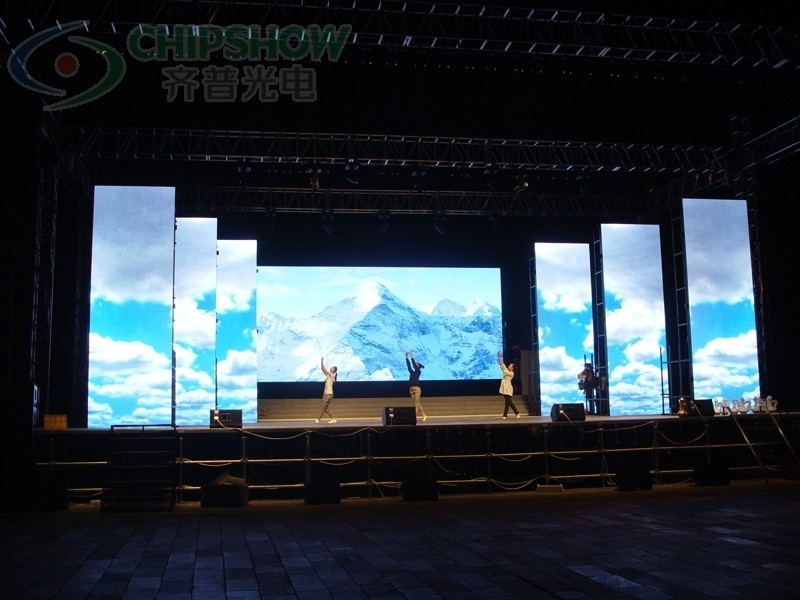 Indoor Full Color Stage LED Display, LED Video Screen