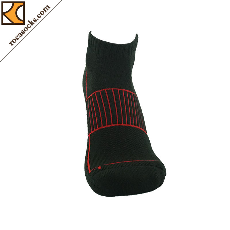 Women′s Low Cut Coolmax Cotton Blend Socks (162027SK)