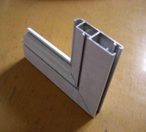 Perfil de aluminio para la puerta y la ventana perfil de - Perfil aluminio anodizado ...