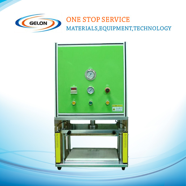 Semi-Automatic Aluminium Laminated Film Pouch Forming Machine for Lithium Battery