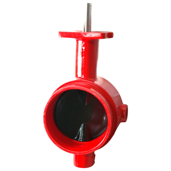 Grooved end butterfly valve rbv c china ball