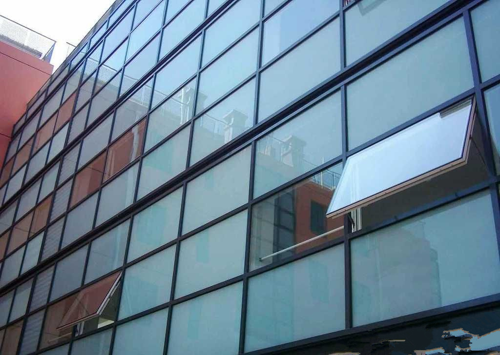 Hollow/Insulated Tempered Curtain Wall Glass