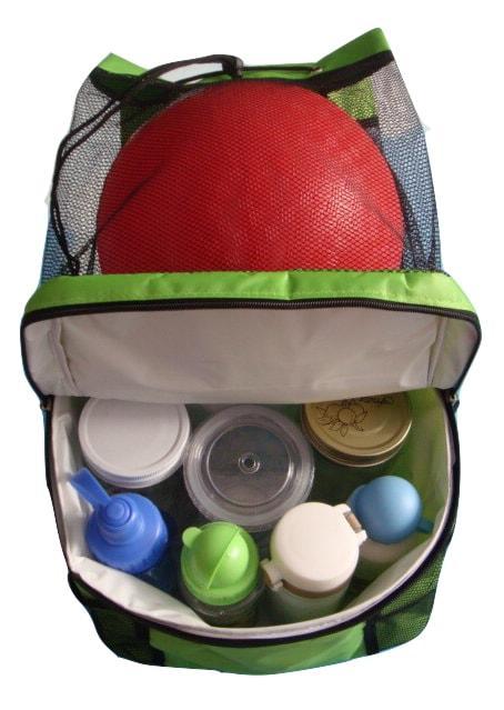 Rucksack Cooler Bag Mesh Cooler Backpack